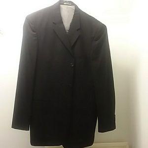 J Ferrar Black Blazer Jacket